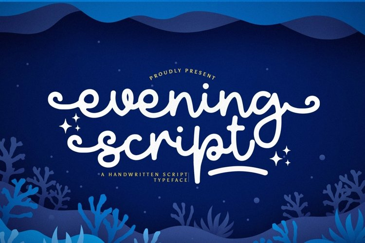 Web Font Evening example image 1