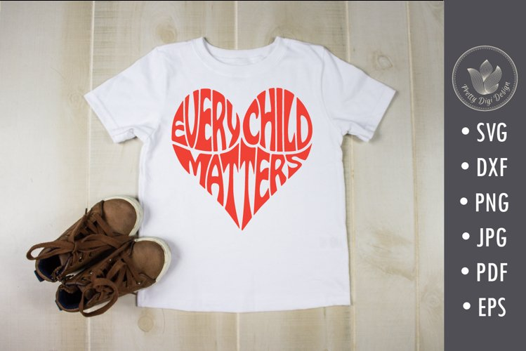 Every child matters, svg, png, heart shape