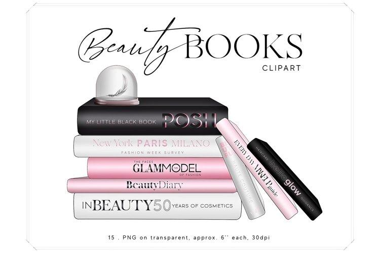 Beauty Books Clipart - Coffee Table Books Clip Art