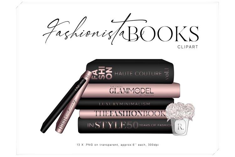 Fashion Books Clipart - Coffee Table Books Clip Art