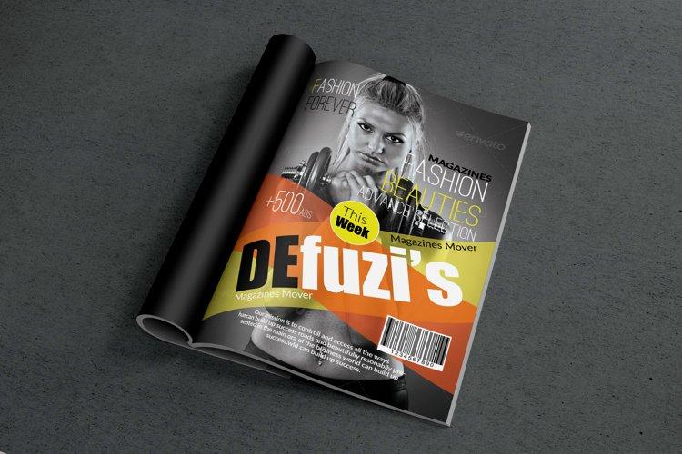 Body Fitness Magazine Cover example image 1