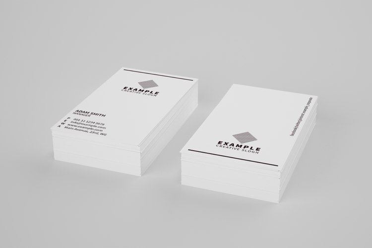 Simple Business Card example image 1