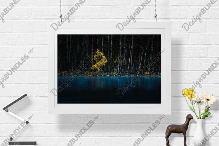 Yellow Tree - Wall Art - Digital Print