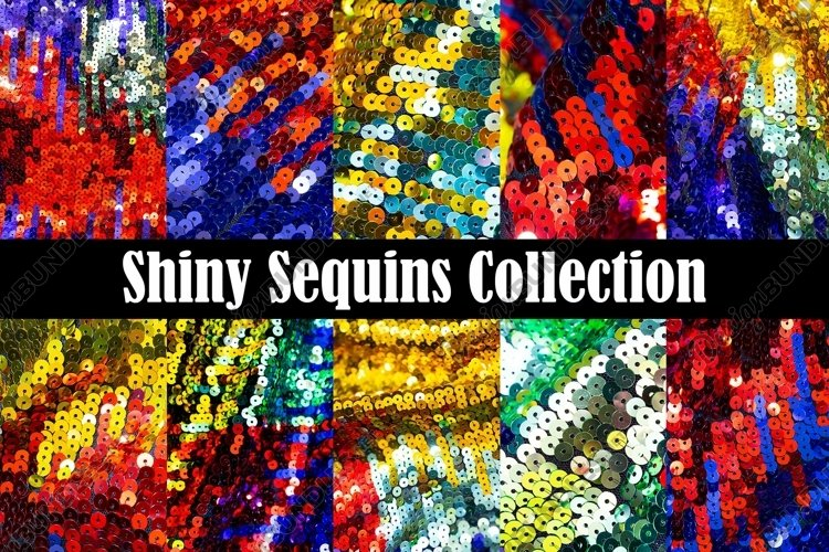 55 Shiny Sequins Background Photograph Collection example image 1
