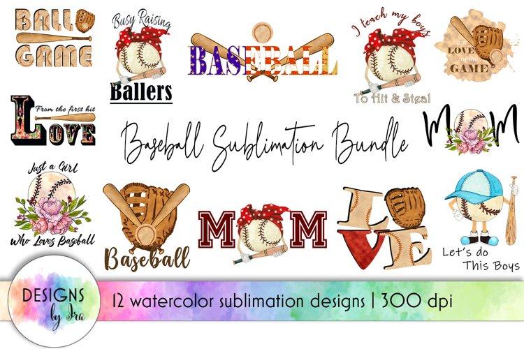 Baseball Sublimation Bundle | Baseball Mom | Baseball Game