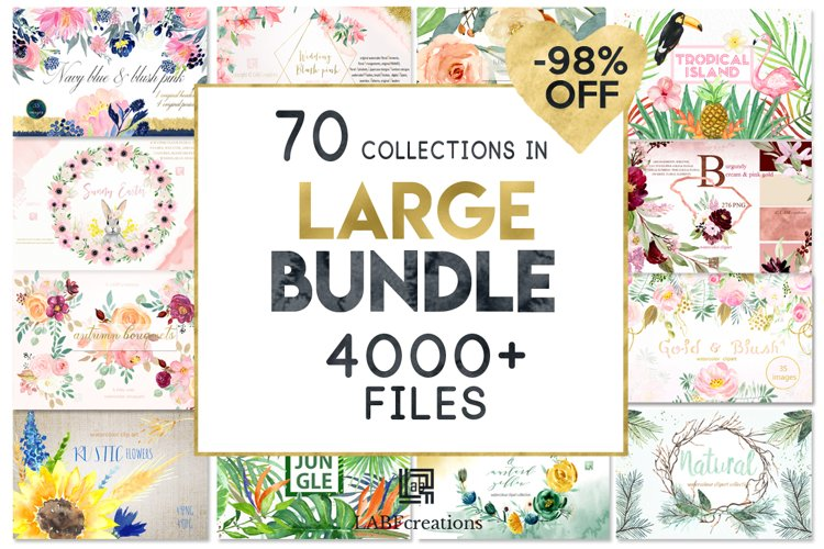 -98 Off Graphic Bundle 70 sets in 1 example image 1