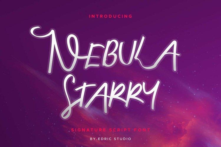 Nebula Starry example image 1