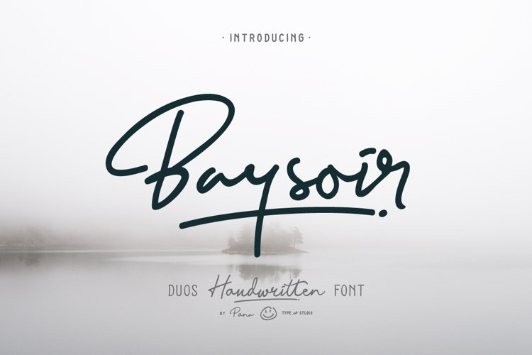Baysoir Duo Handwritten Free Texture