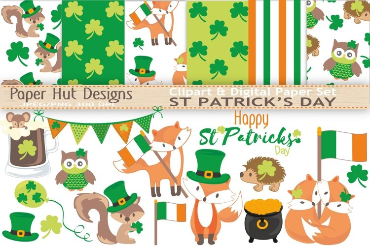 St-Patrick's Day Clipart example image 1
