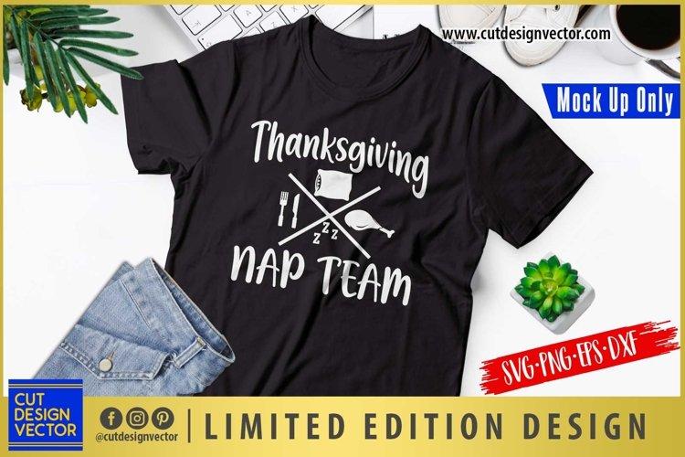 Thanksgiving Nap Team SVG, Thanksgiving SVG example image 1