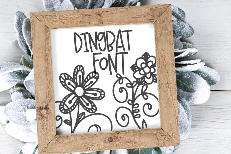 Doodle Bug - A Whimsical Dingbat and Writing Duo example image 1
