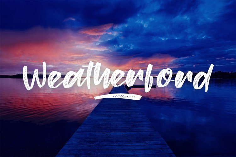 Weatherford Font