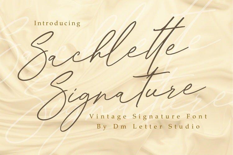 Sachlette Signature example image 1