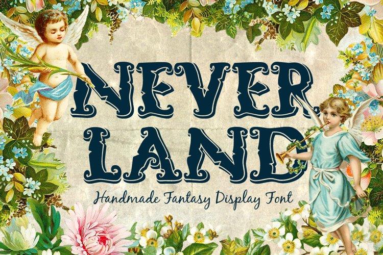 Neverland Handmade Font example image 1