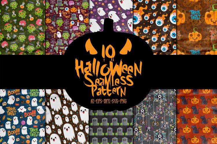 Halloween Seamless Pattern example image 1