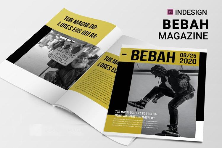 Bebah | Magazine example image 1
