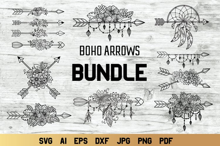 SVG Instant Download Boho Babe Bus Cut File