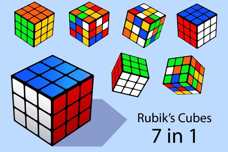 Rubik's cube example image 1