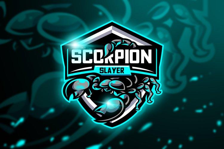 Scorpion Slayer - Mascot & Esport Logo