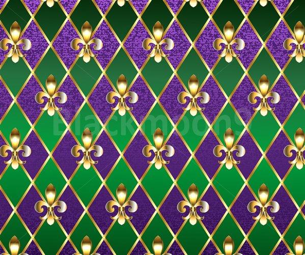 Jewelry Background Mardi Gras example image 1
