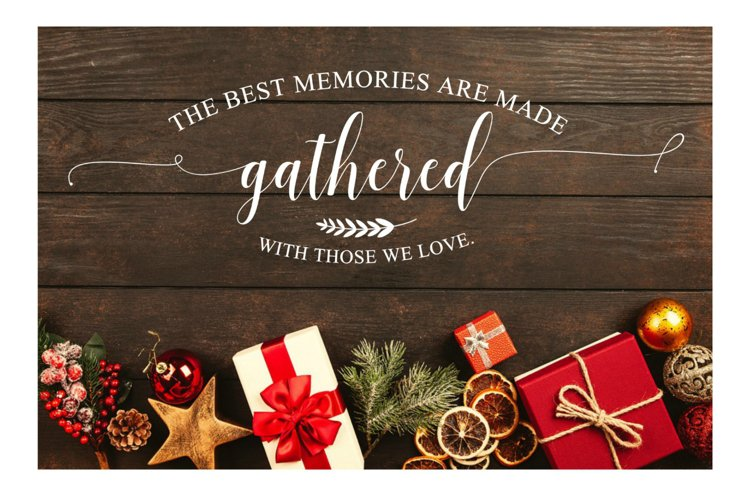 Best Memories ,Made Gathered With Those we Love, SVG FILE example image 1