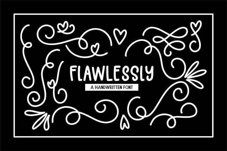 Flawlessly Font Bonus Doodles SVGs