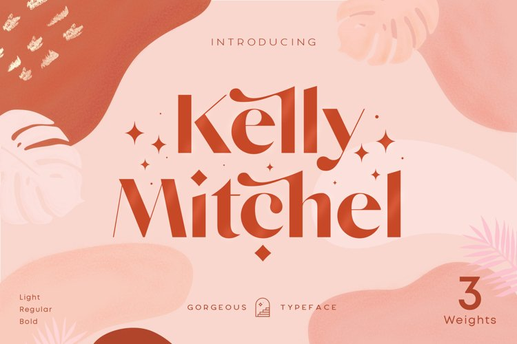 Kelly - Three Weights Classy Sans Serif example image 1