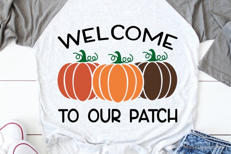 Welcome to Our Patch Svg, Pumpkin Patch Svg, Corn Maze Svg