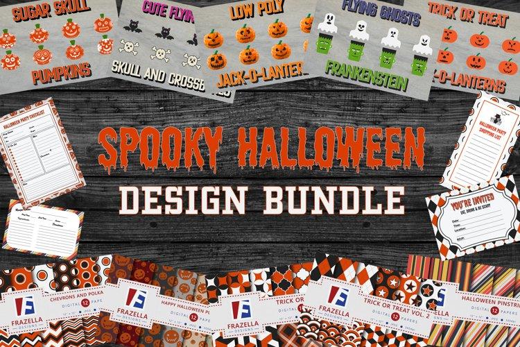Spooky Halloween Design Bundle