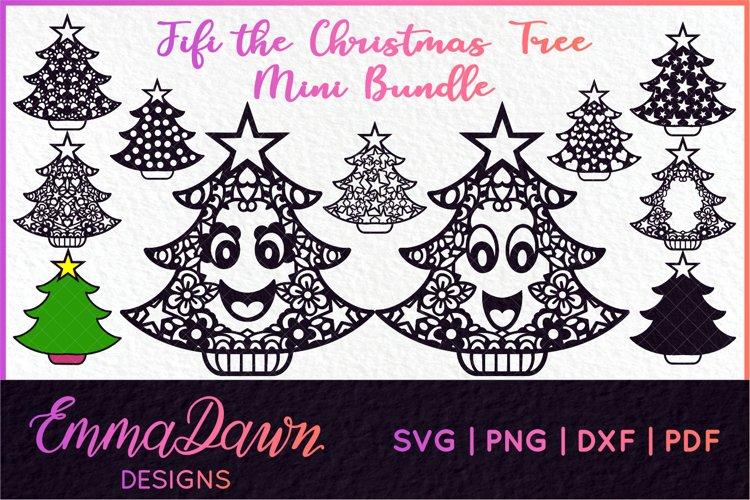 FIFI THE CHRISTMAS TREE SVG MINI BUNDLE 11 DESIGNS example image 1