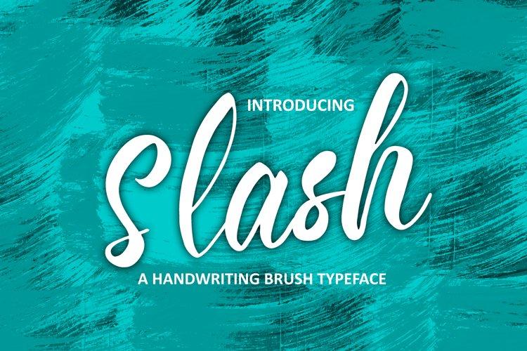 Slash example image 1