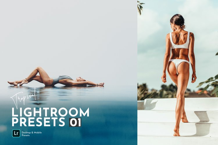 Tropical Lightroom Presets Pack example image 1