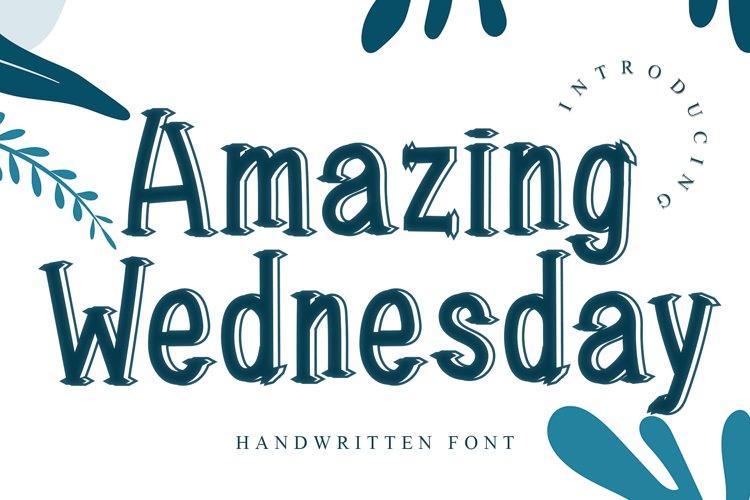 Amazing Wednesday example image 1