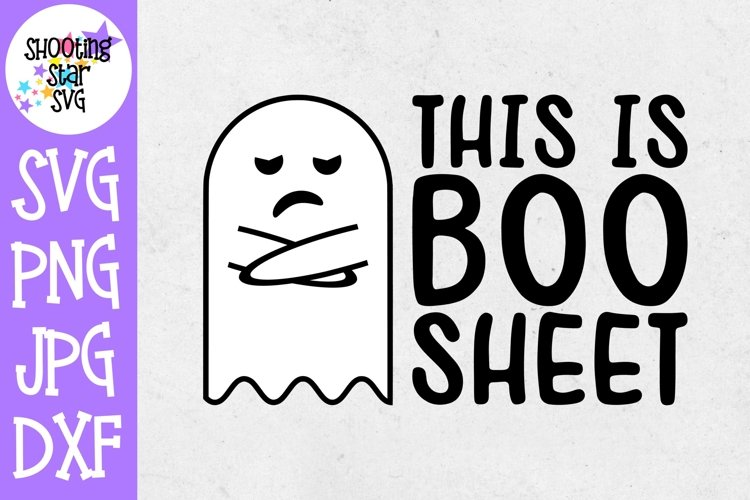 This is Boo Sheet SVG - Halloween SVG - Funny SVG