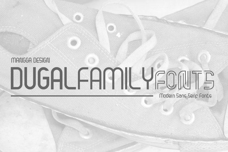 Dugal Family Fonts example image 1