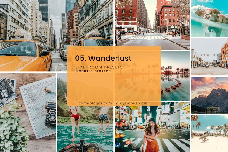 05. Wanderlust Blogger Presets example image 1