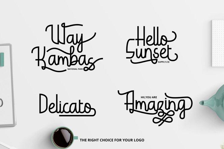 Hardolyn - A Unique Script Font // Web Font example image 1