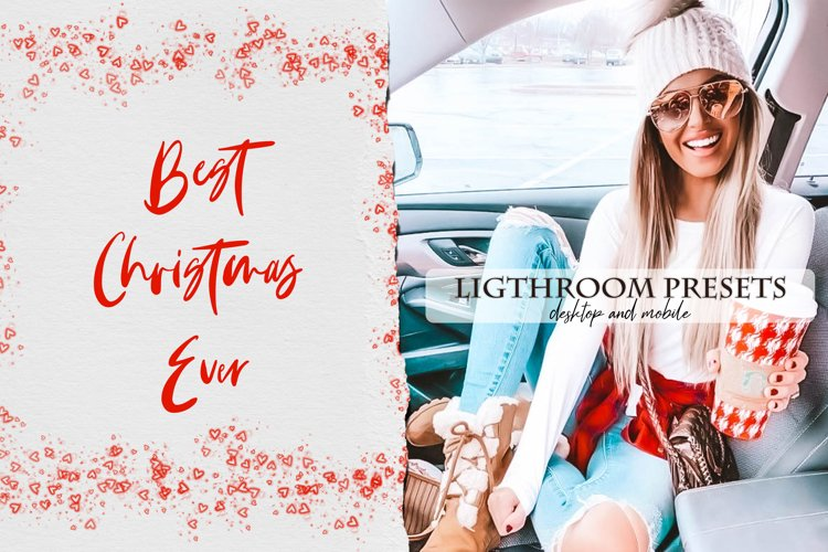 Best Christmas Ever Lightroom Presets example image 1