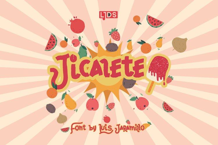 Jicalete example image 1