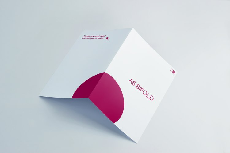 A6 Invitation & Greeting Card Mockups example image 1
