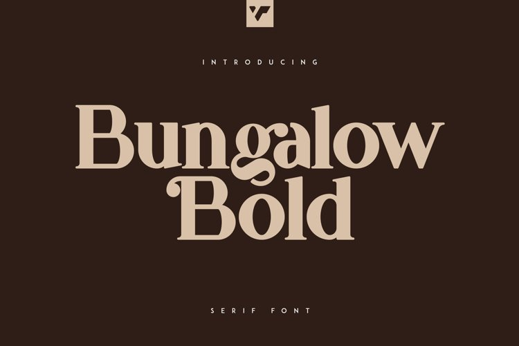 Bungalow Bold Font example image 1