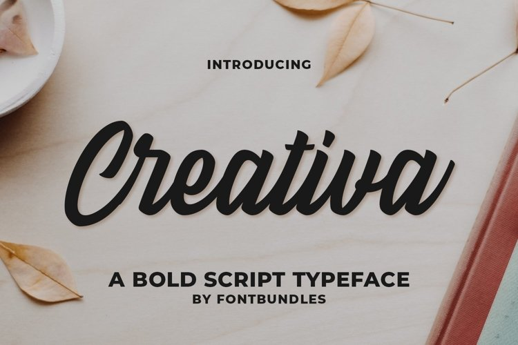 Web Font Creativa example image 1