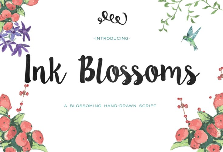 Ink Blossoms example image 1