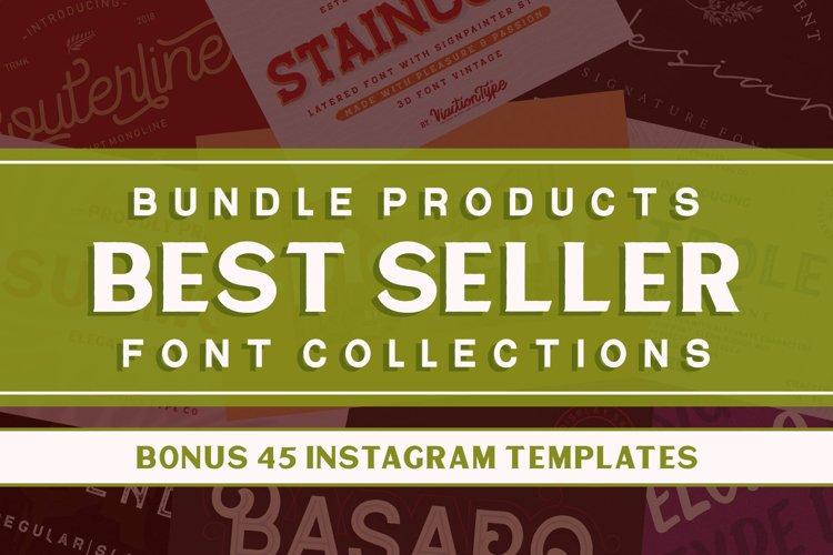 Best Seller Bundles- Font Collections