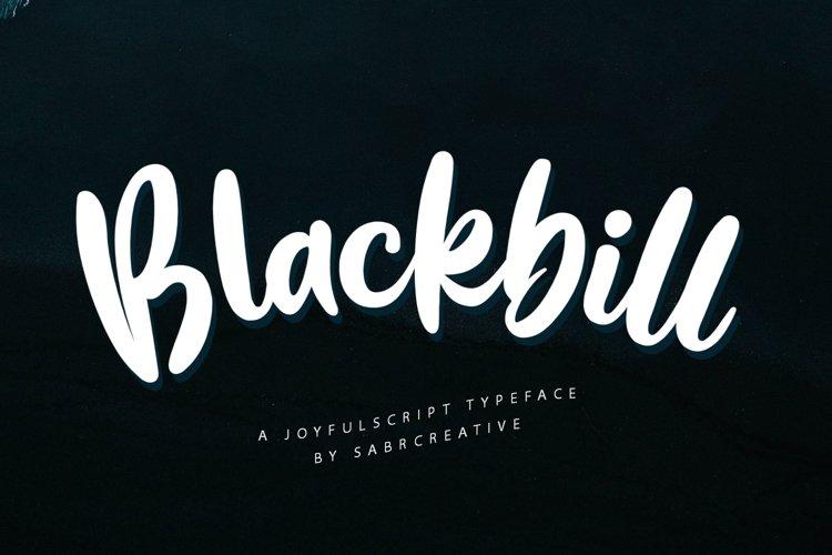 Blackbill example image 1