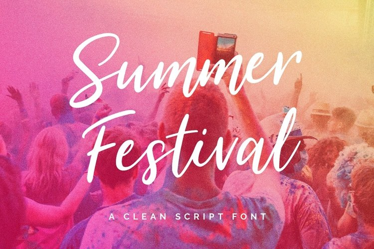 Summer Festival Typeface example image 1