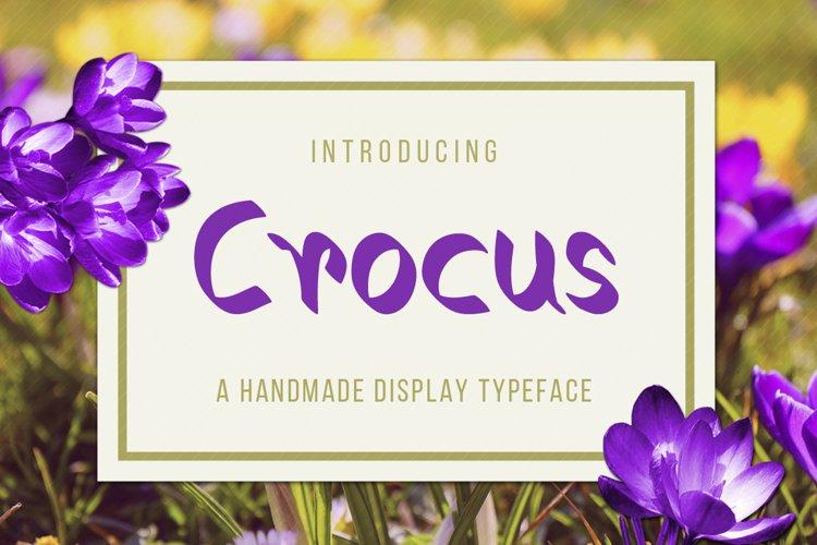 Crocus Typeface