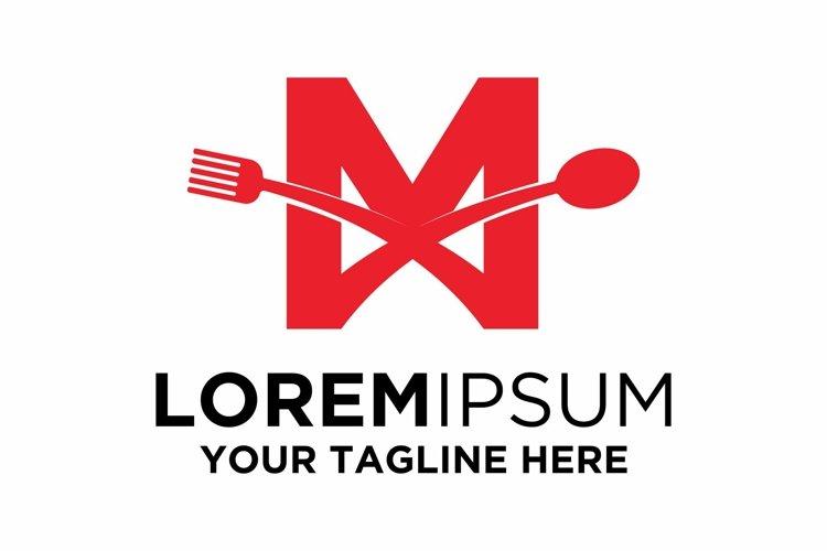 Letter M Food logo design example image 1