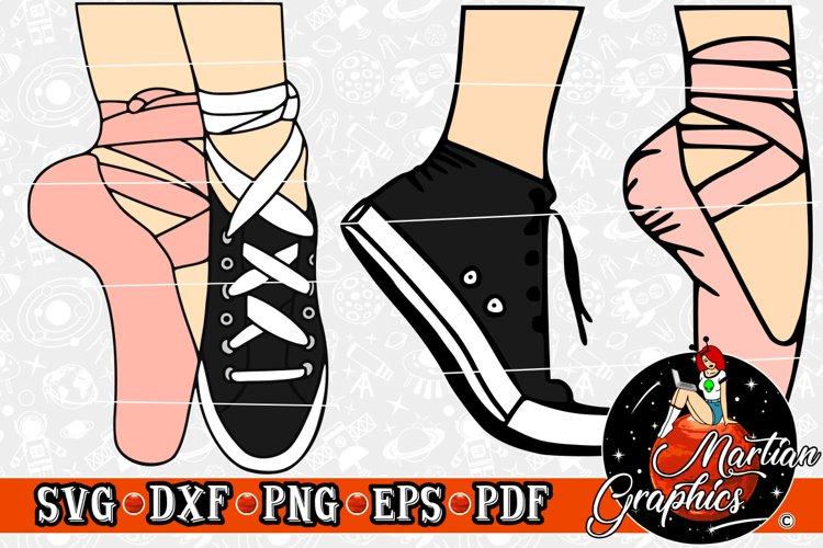 Sneaker Ballet Slipper - A Dance Design DUO