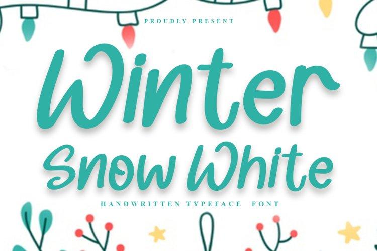 Winter Snow White example image 1